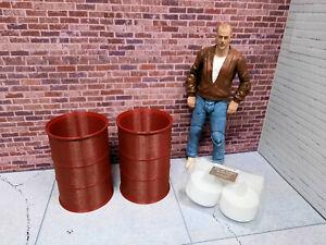 2-Rusty-Barrel-Fire-lights-1-10-Scale-Shop-Garage-Rock-Crawler-Doll-House