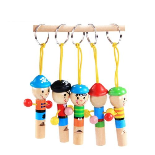 Party Favors Musical Gift Little Pirate Whistle Wooden Toys Kids Toys
