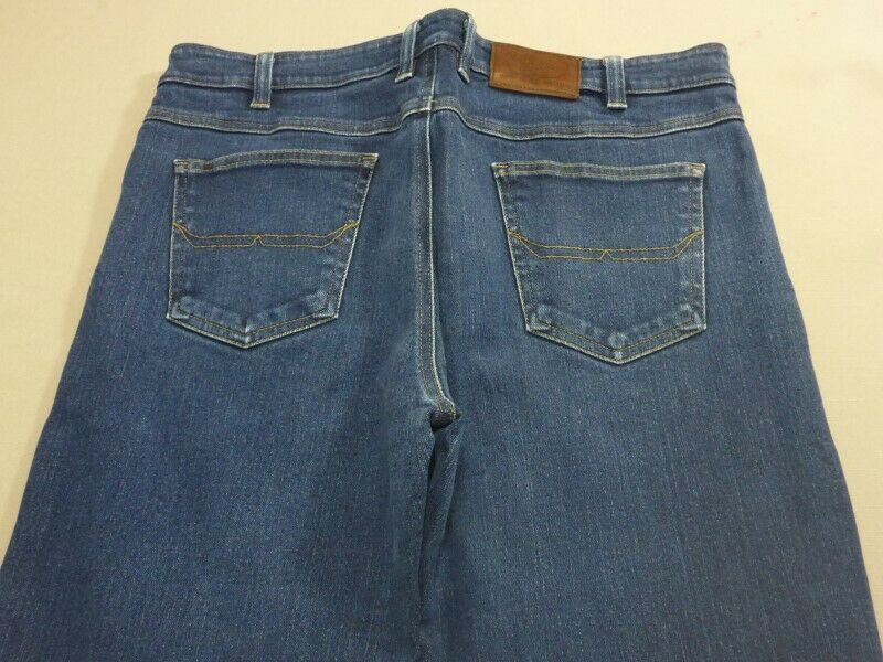 059 MENS EX-COND R.M. WILLIAMS CLASSIC blueE STRETCH JEANS SZE 36  RRP.
