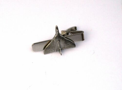 Avro Vulcan Plane Tie Clip Gift Pouched Made in UK Plane Pilot Gift