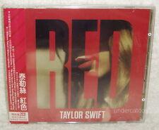 Taylor Swift RED Deluxe Version Taiwan Ltd 2CD w/OBI (6 BONUS TRACKS) No:3717314
