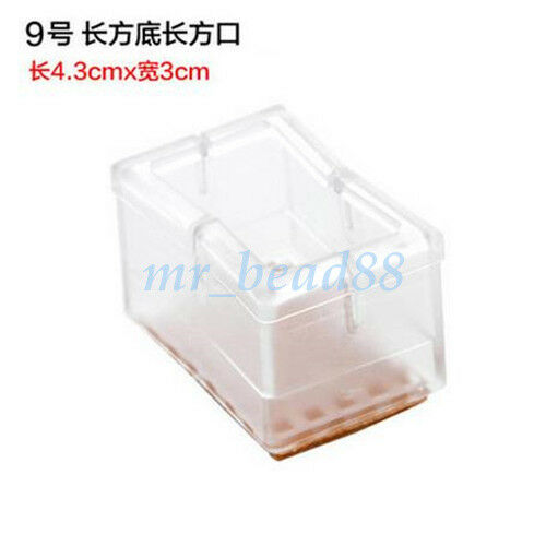 Chair Leg Feet Silicone Caps Pads Furniture Table Cover Wood Floor Protectors