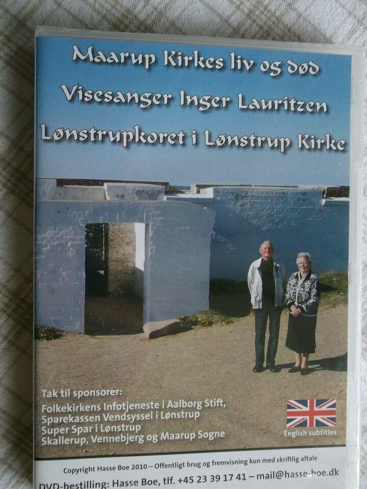 Maarup Kirkes Liv Og Død, instruktør Hasse Boe, DVD