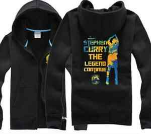 brand new 91a75 d888d Details about STEPH STEPHEN CURRY #30 KID YOUTH JERSEY ZIP HOODIE JACKET  GOLDEN STATE