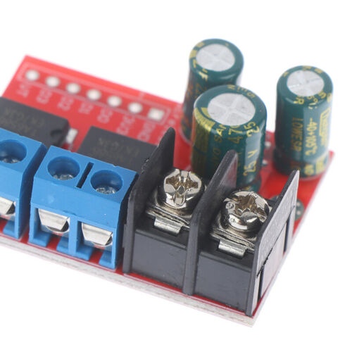 5A Dual DC Motor Drive Module Reverse PWM Speed Regulation H Bridge L298N RH$