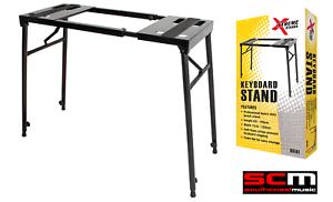 Sturdy-MultiPurpose-Keyboard-Digital-Piano-DJ-Turntable-Mixer-Stand-Xtreme-KS141