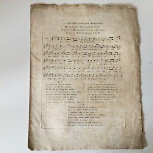 Spartito La Benedizione Delle Bandiere I Farfalle Joliveau Musica Mcqueen