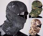 Winter Python Pattern Motorcycle Balaclava Neck Ski Full Face Mask Cap Hat Cover