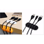 Latest 5-Clip Fixed Wire Organizer Desktop Cord Clip Management Headphone Wire