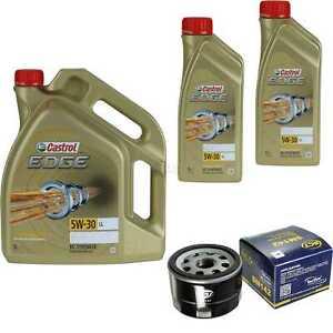 Inspektionskit-Filter-Castrol-7L-Oil-5W30-for-Nissan-Interstar-Bus-Of-X70-DCI
