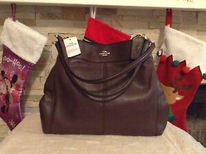 Image Is Loading Nwt Coach Lexy Pebbled Leather Shoulder Bag Handbag