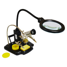 Elenco Zd 10y Soldering Station Led Magnifier 3rd Helping Hand