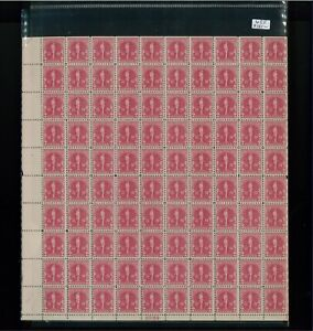1930-United-States-Postage-Stamp-688-Plate-No-20169-Mint-Full-Sheet