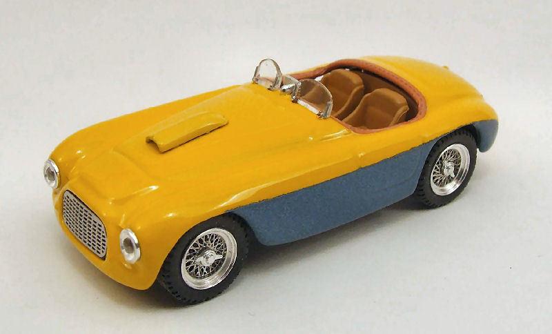 Ferrari 166 spider e. peron 1949 1 43 modell art-model 0224