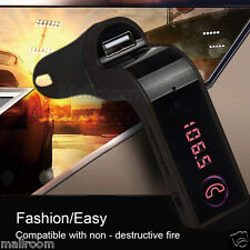 G7 Bluetooth Handsfree Car MP3 FM Transmitter USB Charger Kit LCD For All Phones