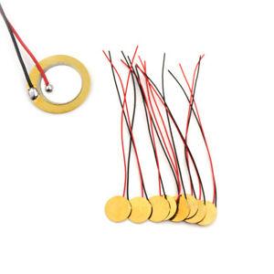 20Pcs-Dia-15mm-Piezo-Elements-Sounder-Sensor-Trigger-Drum-Disc-With-Flying-XR