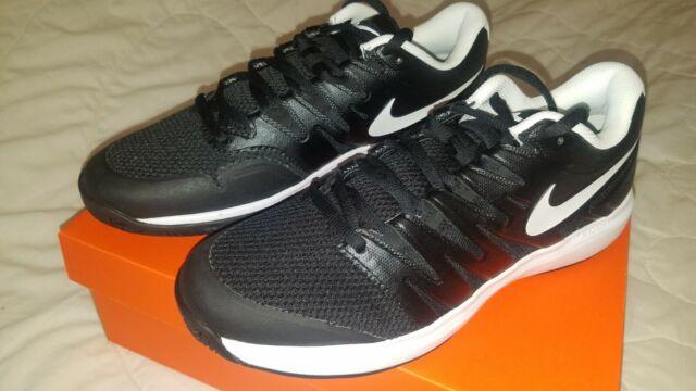 fd16d6ee557a5 NEW Nike Air Zoom Prestige HC Size 10 - Black White Tennis Shoes AA8020-001  BNIB