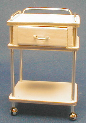 Doll miniature handcrafted Medical drawer single 1 12