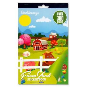 380 Farm Yard Reward Stickers Cows Pigs Chicks Etc Decorate