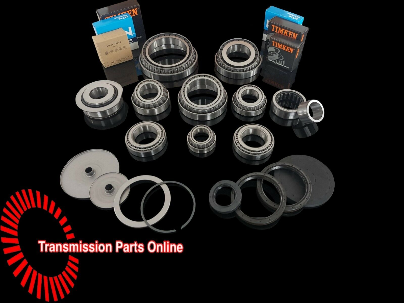 Details about VW Transporter T5 2 5TD 6 Spd 0A5 Late Gearbox Bearing & Oil  Seal Rebuild Kit