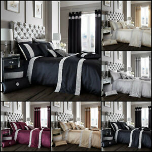 Luxury-Oxy-Diamante-Duvet-Cover-Set-With-Pillow-Cases-Designer-Linen-Quilt-Sets