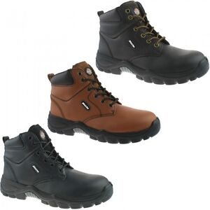 Dickies-Newark-Water-Resistant-Safety-Mens-Steel-Toe-Leather-Work-Boots-UK6-12