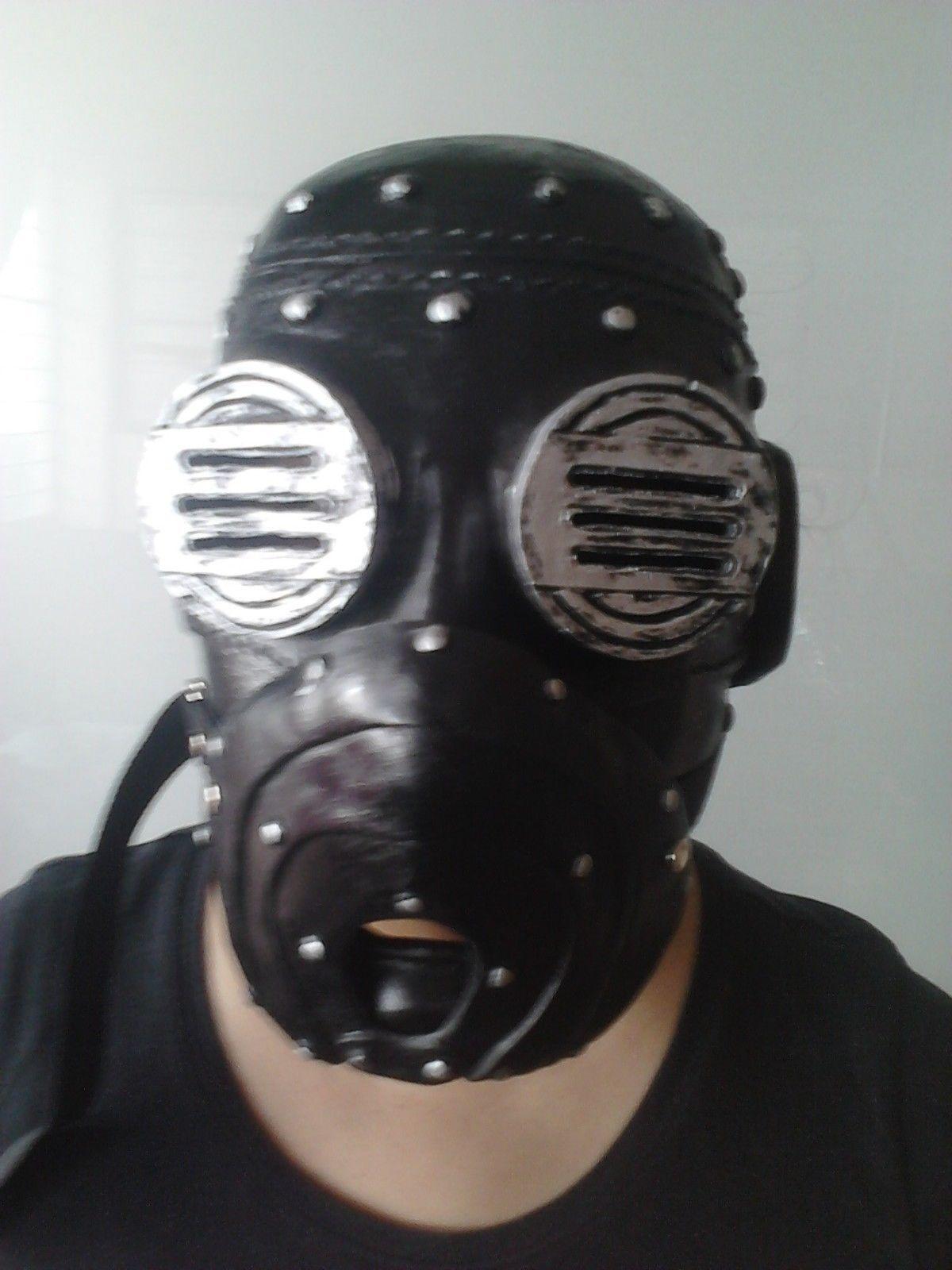 Sid Wilson Deluxe Grau Kapitel Slipknot Tour Maske Maske Maske Kostüm Verkleidung Erwachsene 9eb5ff