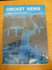 25/06/1977 Cricket News: Vol.01 No.08 - A Weekly Review Of The Game, Cover Image