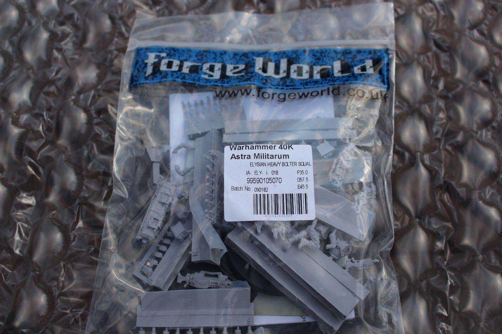 Juego Works Hammer 40k forjador world world world Happy World Heavy Bolt Team New OOP d4e