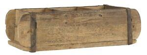 Holzkasten-Ziegelform-Holz-braun-3-Faecher-Dekokasten-UNIKA-IB-Laursen