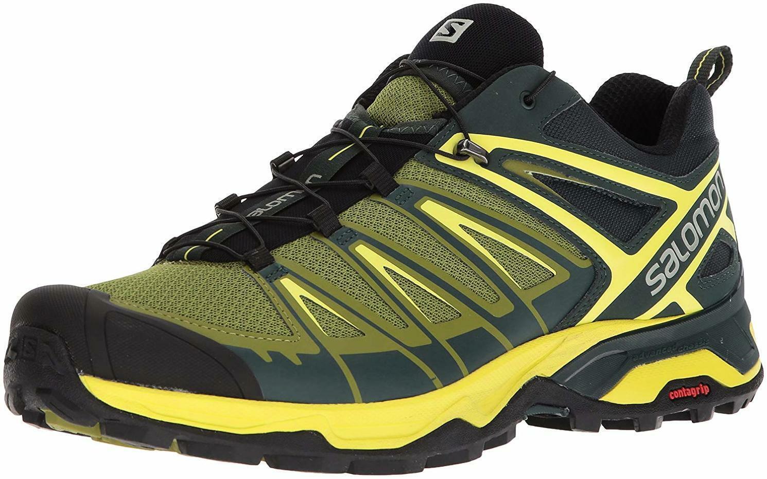 Salomon Men's X Ultra 3 Trail Running scarpe - Choose SZ Coloree
