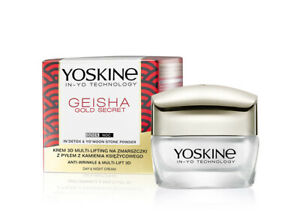 YOSKINE Geisha Gold Secret krem/ Anti-wrinkle and 3D multi-lifting
