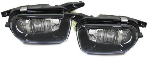 BLACK FOG LIGHTS FOR MERCEDES SLK R170 2000-2004 /& R171 2004-2007 MODEL SMOKED