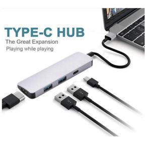 USB 3 1 Type-C Hub To HDMI Adapter 4K Thunderbolt 3 USB C