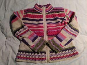 Boston-Proper-Multiple-Color-Lambs-Wool-Zip-Up-Sweater-Women-039-s-Small