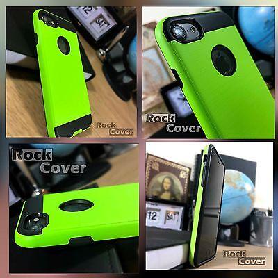 Apple Iphone 8 Caso Robusto Metallo Vetro Screen Protector Verde Spedizione Gratuita- Facile E Semplice Da Gestire