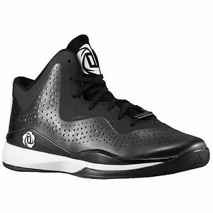 2f3ba96fa NEW Adidas D Rose 773 III Mens Basketball Shoes Black White - Size ...