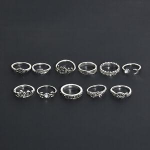 11Pcs-Set-Retro-Silver-Boho-Fashion-Arrow-Moon-Midi-Finger-Knuckle-Rings-Jewelry