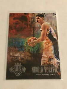 2013-14 Court Kings Basketball Base Card - Nikola Vucevic - Orlando Magic