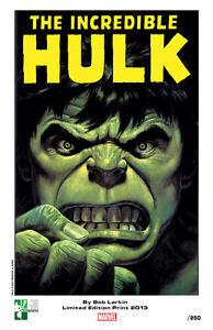 BOB-LARKIN-signed-Hulk-print-limited-to-250