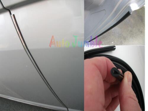 Audi A4 Avant Estate CHROME Car door guard scratch protector U shaped edge 2M