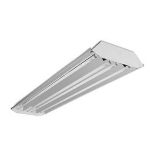 3) 4 Lamp T5 High Low Bay Fluorescent Light Fixture Garage Shop ...