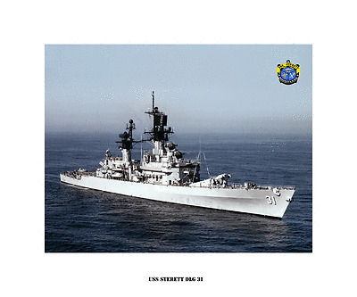 USS Hunley AS 31 Personalized Canvas Ship Photo Print Navy Veteran Gift