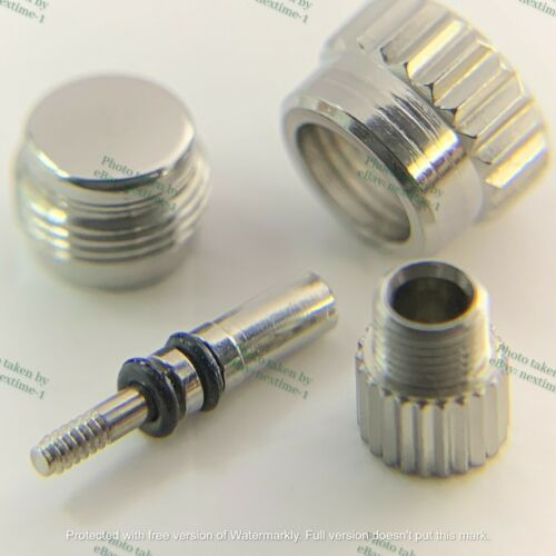 2-Piece REPLACEMENT Screw-down crown Pusher 24-P402-0 for 4030 Daytona 16520