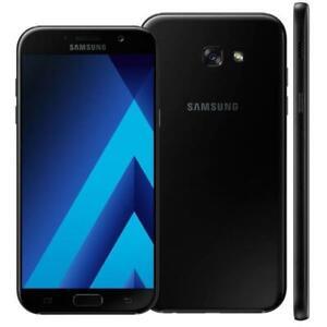 Samsung-Galaxy-A7-SM-A720F-32-3GB-Debloque-Ciel-Noir-Tout-Neuf-Scelle