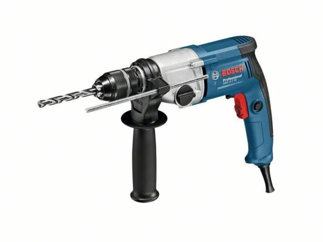 Bosch GBM 13-2 RE Two speed rotary drill with keyless chuck -110v - 06011B2060