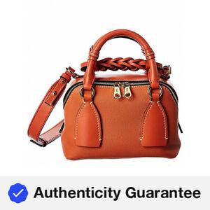 Chloe Daria Small Leather Shoulder Bag Women's