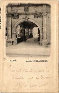 CPA-Luxeuil-les-Bains-Arcades-Mon-Francois-Ier-636342
