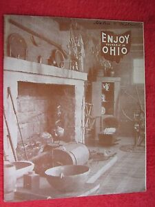 1940's ENJOY YOURSELF IN OHIO 46 PAGE BROCHURE BOOK