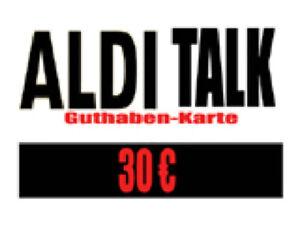 Aldi Talk 300 Aufladen